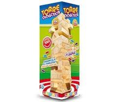 Jenga Yenga De Madera Torre Didactica 54 Piezas En Su Caja