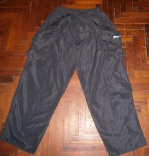 Pantalón Cargo Talle Large Con Varios Bolsillos(usado)