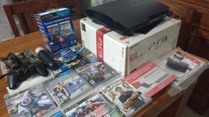 PlayStation 3 completa con pack move y 2 jostick 7 juegos