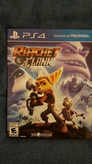 RATCHET CLANK PS4 nuevo sin uso