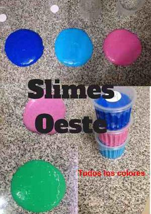 Slime Moco De Gorila X% Calif Buenas Sin Borax