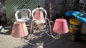 lampara de techo 3 luces usada