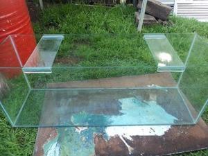 pecera reforzada 1 m x40 alto x 30 ancho con accesorios