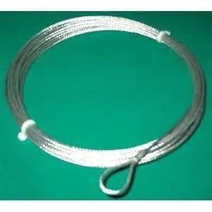 Cable De Acero Galvanizado Paddle O Voley (305)
