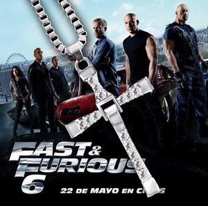 Cadena Cruz De Toretto Rapido Y Furioso Fast & Furious