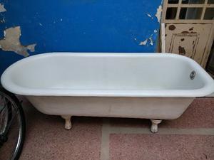 Excelente bañera antigua fundición, patas tipo garra.
