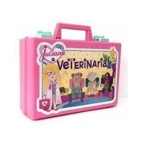 Juliana Veterinaria Valija Grande Con Accesorios 2 Mascotas