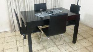 Mesa más 4 sillas mas envio incluido!