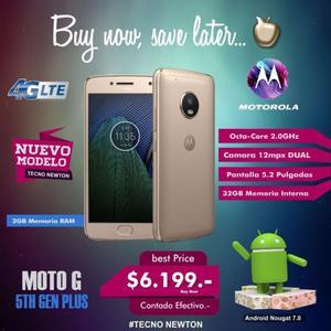 Motorola Moto G5 Plus XTg Lte 32gb Ram 2gb Huella