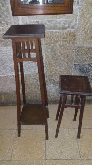 Se venden dos pedestales
