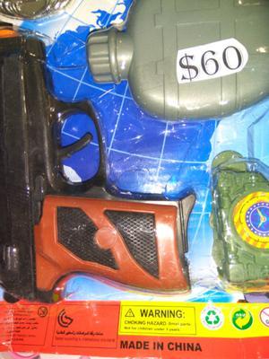 Set de policia $ 60 y muchas ofertas mas