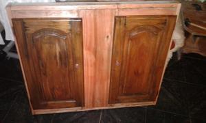 bajo mesada de madera