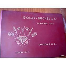 reloj catalogo nº5 golay buchel & cia lausanne swiss