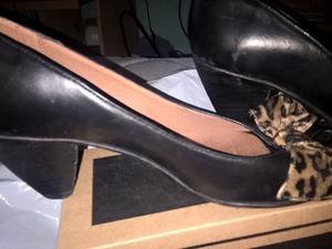 zapatos boquita pescado mujer nro 38