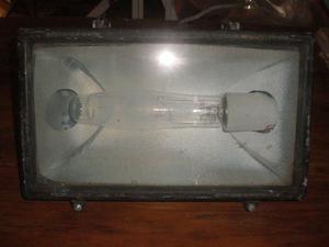 Artefacto reflector iluminacion exterior 400w