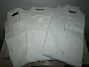 Camisas Hombre Manga Larga Blanca Hernan Crespo I.strelli