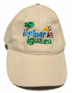 Gorra Visera Icebar Iguazu Beige Crema Usada Como Nueva