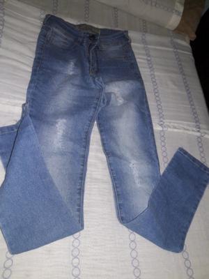 Jeans elastizados talle 36