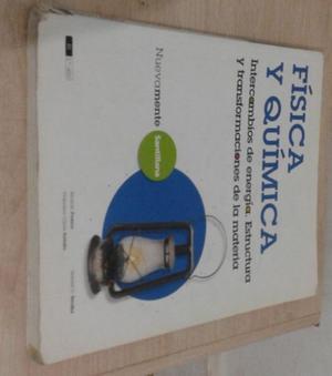 Libro de FISICA Y QUIMICA. ED. Santillana Intercambios de