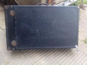 Oferta x mudanza antigua valija de madera y metal