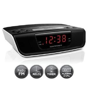 Radio Reloj Despertador Philips Aj Digital Fm Alarma *
