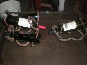 Soporte herradura para botellas de vino