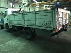 Camion Deutz Agrale con Grua y plataforma Hidraulica trasera