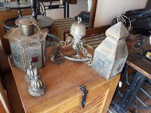 Lámparas varias antiguas