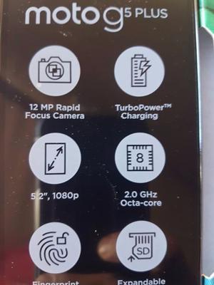 Motorola Moto G5 Plus 4g Lte 32gb Ram 2gbHuella Gtia Lector