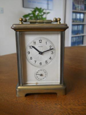 Reloj Antiguo A Cuerda, De Mesa, Francés.