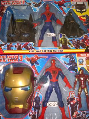 Set de Avengers $ 559 y muchas ofertas mas