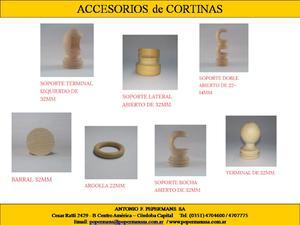 Fabricantes de Accesorios para cortinas!