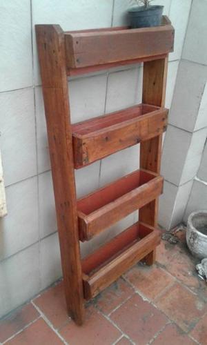 junkar tigre estanteria de madera de pallets posot class