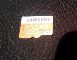 Memoria Samsung Micro SD 128 GB. Adaptador SD/Micro SD.
