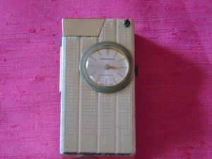 Reloj Encendedor antiguo de coleccion