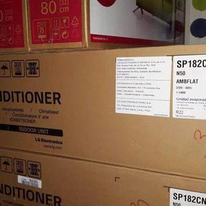 Split lg  frio calor con kit de instalación completa