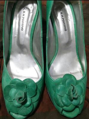 Zapatos de cuero (badana) nr 36