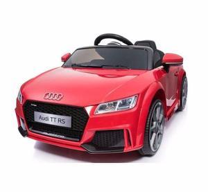 Auto Audi Tt Rs A Bateria 12 Volt Licencia Oficial Rojo