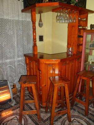 Barra Bar curvo con banquetas
