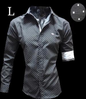 Camisa Entallada Hombre L