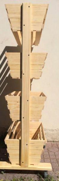 Organizador multiuso madera maciza