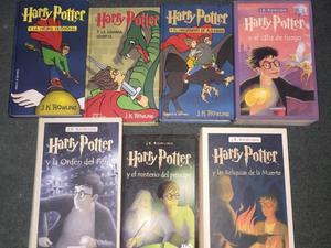 Saga completa libros Harry Potter