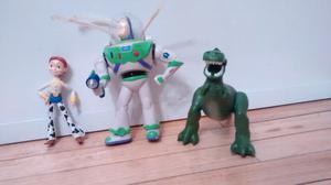Set 3 muñecos toy story Buzz Rex y Jesse