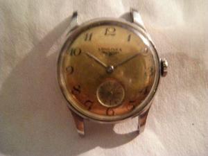 antiguo reloj suizo longines funciona caja acero original