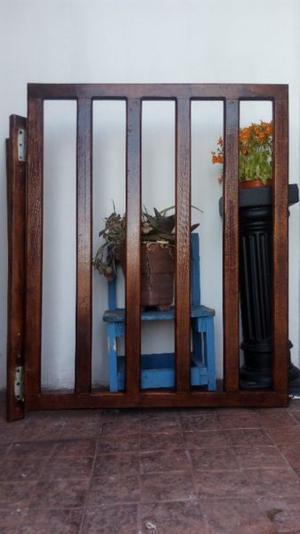2 puertas de seguridad para descanso de escaleras etc