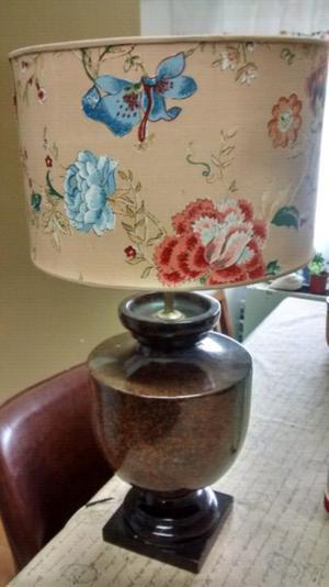Importante Lámpara Vintage De mesa