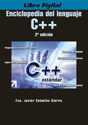 Libro Enciclopeda Del Lenguaje C++ 2da Edicion - Digital