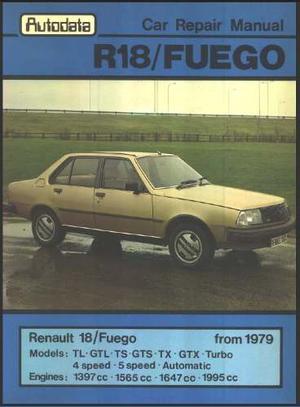 Manual De Taller De Renault 18 Y Renault Fuego