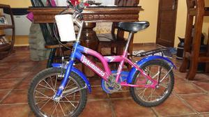 Vendo bicicleta nena excelente estado R 16