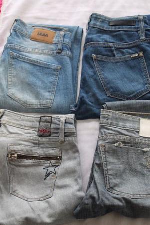 4 Jeans de mujer talle
